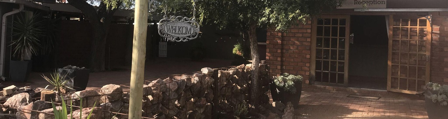 Windhoek Lodge Entrance