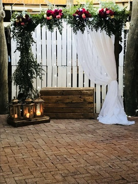 Windhoek Wedding Venue Decor