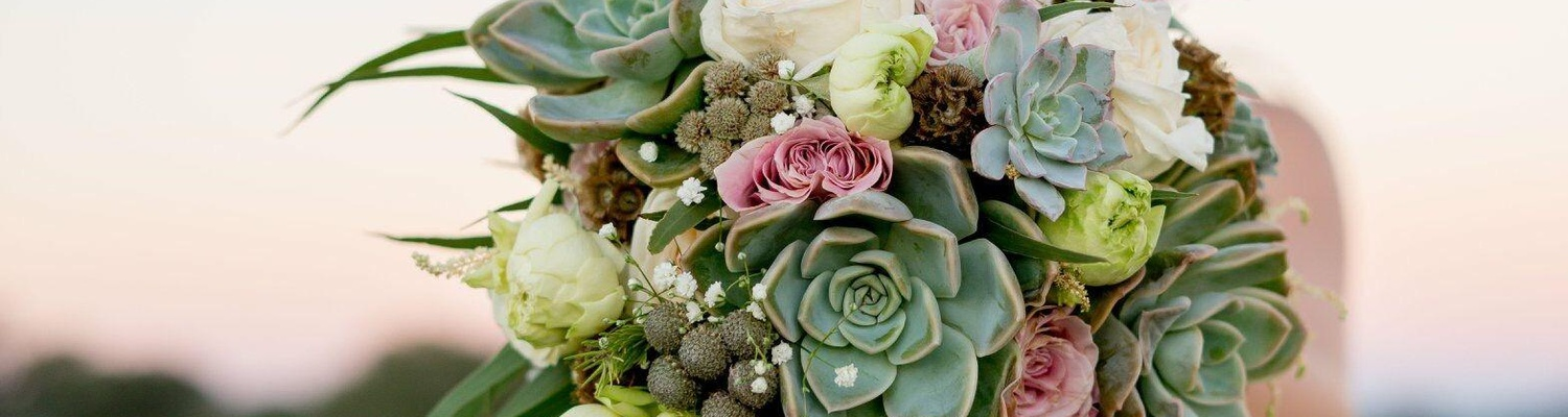 Windhoek Wedding Venue Bridal Bouquet Succulents