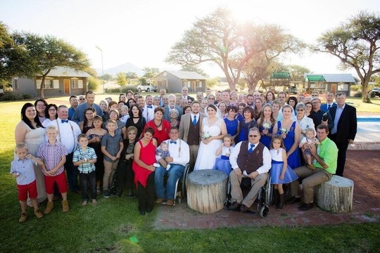 Windhoek Wedding Venue Guests