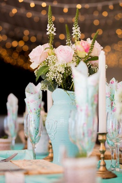 Windhoek Wedding Table Decor