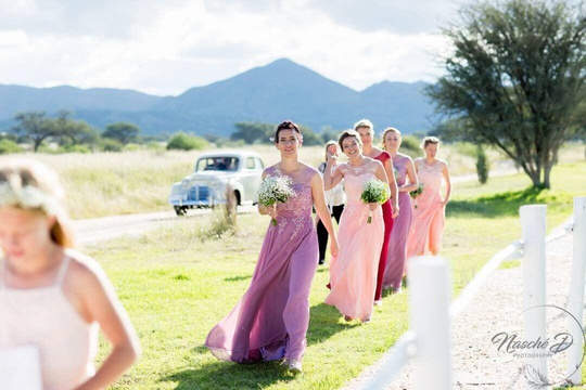 Windhoek Wedding Venue Bridesmaids