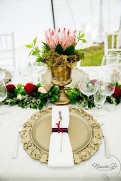 Windhoek Wedding Venue Reception Gold Table Decor