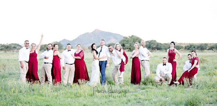 Windhoek Wedding Venue Bridal Party