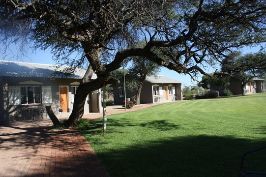 Windhoek Lodge & Venue Grass Area