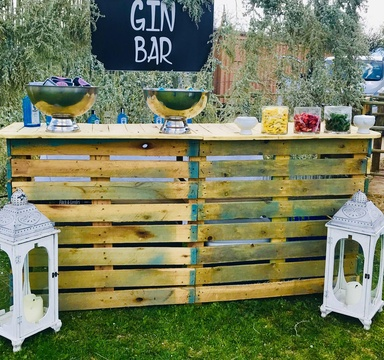 Windhoek Wedding Gin Bar