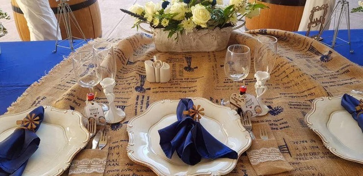 Windhoek Wedding Venue Reception Table Setting
